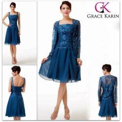 Grace Karin luxusní společenské šaty kostýmek GK CL6235 modrá ... df21722b53