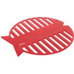 BANQUET Silikonová podložka ryba 20 cm Culinaria red