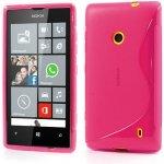 Pouzdro S-line Nokia Lumia 520 růžové
