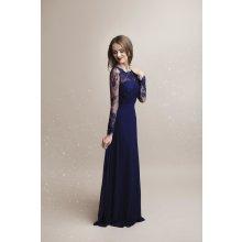 55f8edcad03 Eva   Lola společenské plesové šaty Whitney tmavě modrá