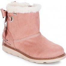 Tom Tailor Kotníkové boty Dětské JOULAI růžová 65a7dba6f6