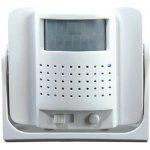 Dveřní alarm - gong, bílý, 1-8m 1D04
