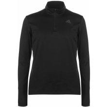 Adidas Response Zip Top Mens Black