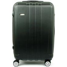AIRTEX Worldline 602 malý skořepinový kufr 37x22x56, Černá