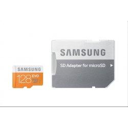 Samsung EVO microSDXC 128GB Class 10 + adaptér MB-MP128DA/EU