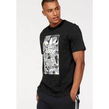 5aa73cd46bb Adidas Originals Camo Label Tee černé