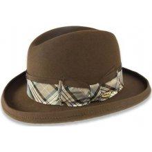 5484bbb3025 Pánský plstěný klobouk hnědá Q6152 11373 12AB