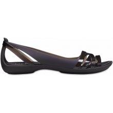 6b5a5d2c635 Crocs Isabella Huarache 2 Flat Black