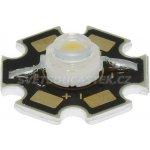Hebei LED STAR 3W stud. bílá 160lm 120° S12N3W6C