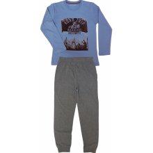 WOLF chlapecké pyžamo dlouhé S2856B světle modrá