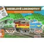 BETEXA, zásilková služba s. r. o. Dieselové lokomotivy - Jednoduché vystřihovánky