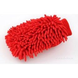 0cb97045670 Dedra Sasanka čistící rukavice jasně červená