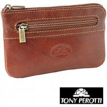 Klíčenka pouzdro uzavíratelné zipem Tony Perotti 359, červené