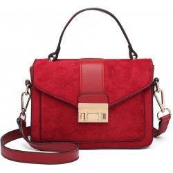 d3e4ce4568 Miss Lulu stylová menší dámská kabelka červená od 690 Kč - Heureka.cz