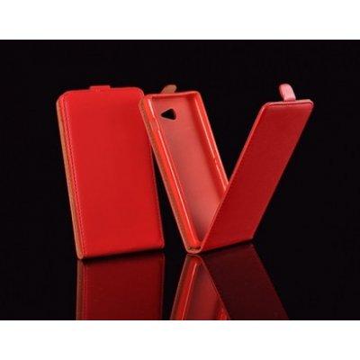 Pouzdro ForCell Slim Flip Flexi Samsung G530 G531 Galaxy Grand Prime Červené
