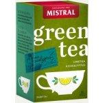MISTRAL Limetka a eukalyptus zelený čaj 20 porcí 30 g