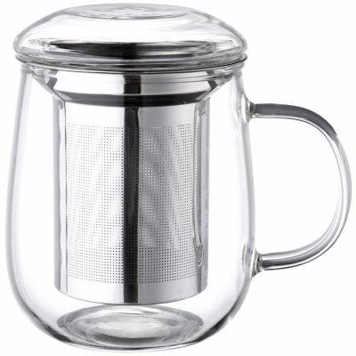 4Home Hrnek na čaj se sítkem 330 ml