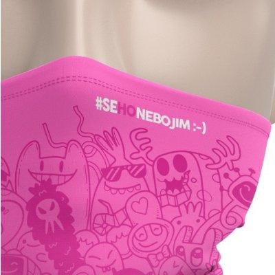 Nanolab Antivirový dětský nanošátek - růžový