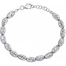Silvego stříbrný náramek Elyse s prodloužením TTT81V2T
