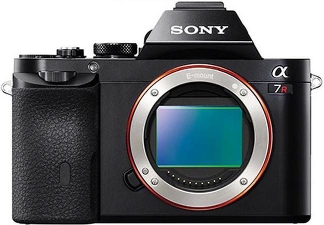 Sony Alpha A7R návod, fotka