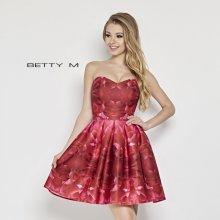 d7583760720 BETTY M dámské šaty korzetové Pinkred červená