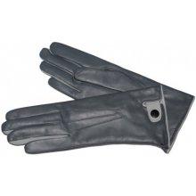 Módní vycházkové rukavice šedivo-sv. šedé 031