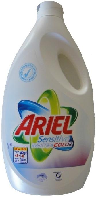 ariel sensitive white and colour