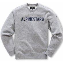 5232925ba884 Alpinestars Pánská mikina šedá DISTANCE FLEECE 1018 51100 1026