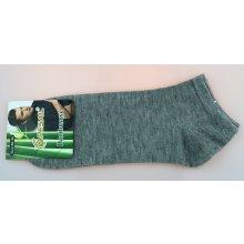 59060671dbc Pesail pánské bambusové kotníkové ponožky šedé