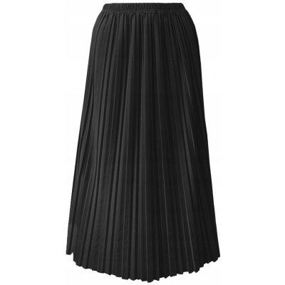 Fashionweek maxi skládaná plisovaná sukně BRAND14 černá