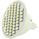 Whitenergy Led žárovka GU5.3 60 SMD 3W 12V Teplá bílá reflektorová 03921