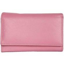 jemně kožená peněženka HMT růžová