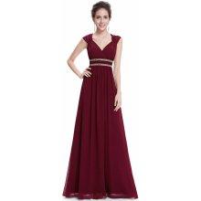 Ever Pretty šaty dlouhé elegantní 8697 vínová 1000177c94