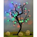 ISO 3089 stromek 48 LED multicolor Bonsai