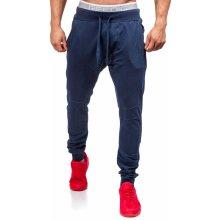 Pánské kalhoty baggy HOT RED 2587 tmavě modré