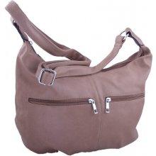 Sun-bags dámská kabelka s kapsičkami světle hnědá