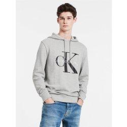 5d01f93965 Calvin Klein pánské mikina Logo Hoodie 41QK962 šedá alternativy ...