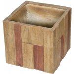 G21 Květináč Wood Cube 44x44x41cm