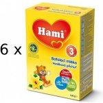 Hami 3 Vanilka 6x500g