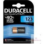 Baterie Duracell CR123 1ks