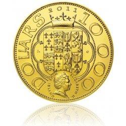 Česká mincovna Zlatá investiční mince Dobrá královna Anna stand 1000 g