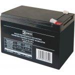 EMOS SLA 12V/12Ah Faston 6.3 (250) 1201000850