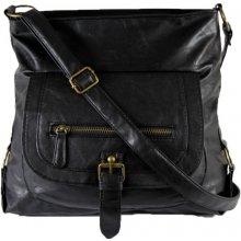 Praktická prostorná kabelka JBHB2477B černá