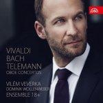 Vivaldi / Telemann / Bach : Hobojové koncerty CD