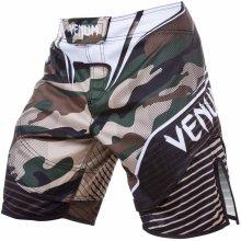 1831d5bd3a6 boxerské kraťasy pánské VENUM camo Hero Green Brown 1299