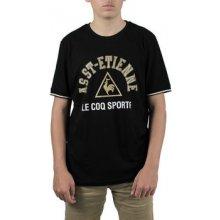 Le Coq Sportif ASSE Fanwear Tee SS n°1 Černá