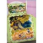 Jerry Fabrics Povlečení Sněhurka a 7 trpaslíků bavlna 140x200 70x90