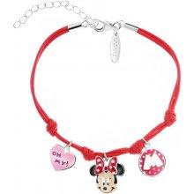 Náramek stříbrný dětský Minnie Mouse Disney AP124-1577