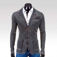 Ombre Clothing pánské sako Pierce černá