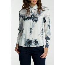 Gant dámská Košile GANT G3. BALLET PRINT SILK BLOUSE bílá